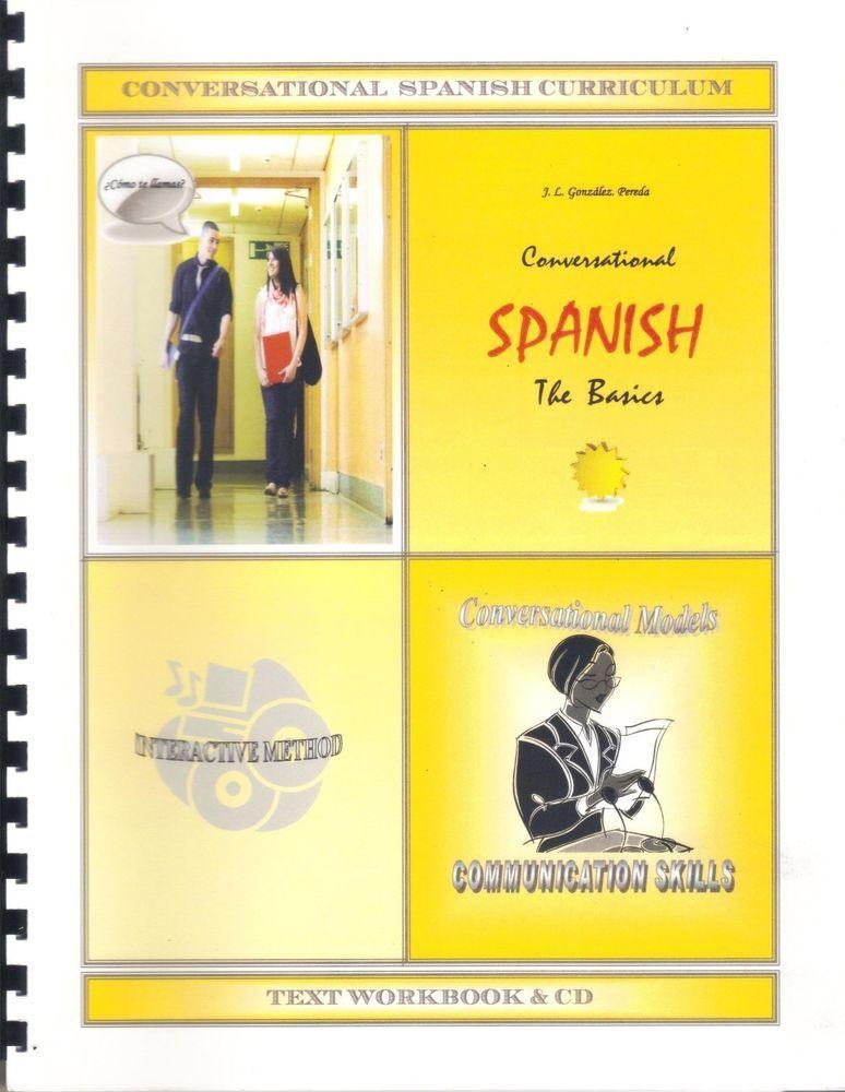 Conversational Spanish Certification Course / Text-Workbook & Audio ...