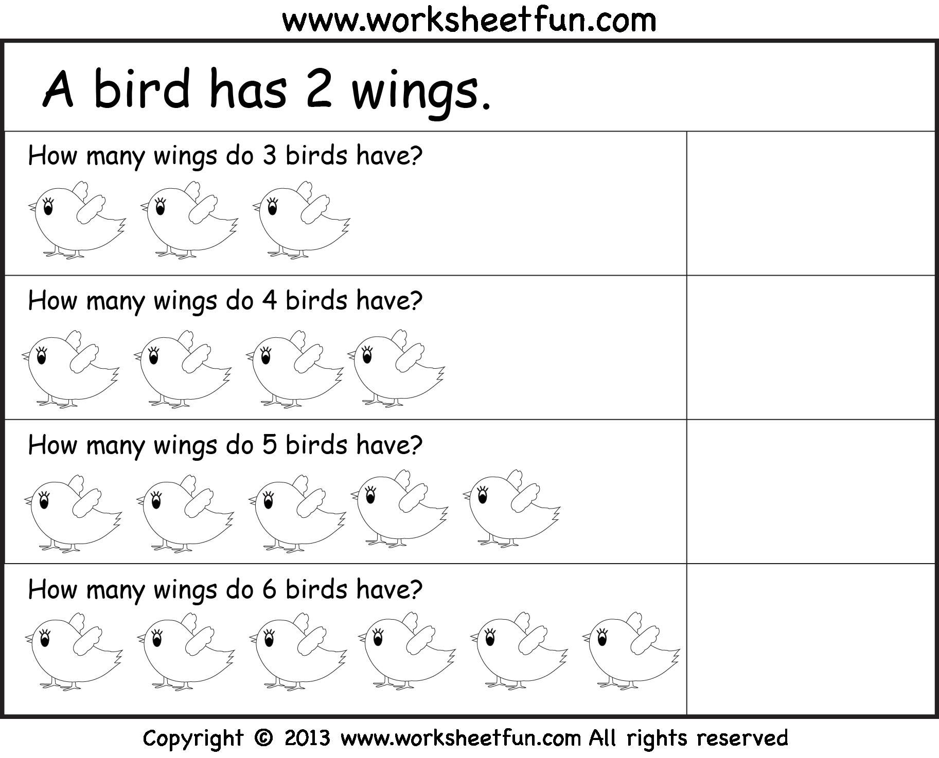 Printable Worksheets For Grade 1 Math In With Images
