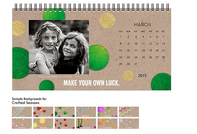 Shutterfly Desk Calendars Desk Calendars Shutterfly Calendar