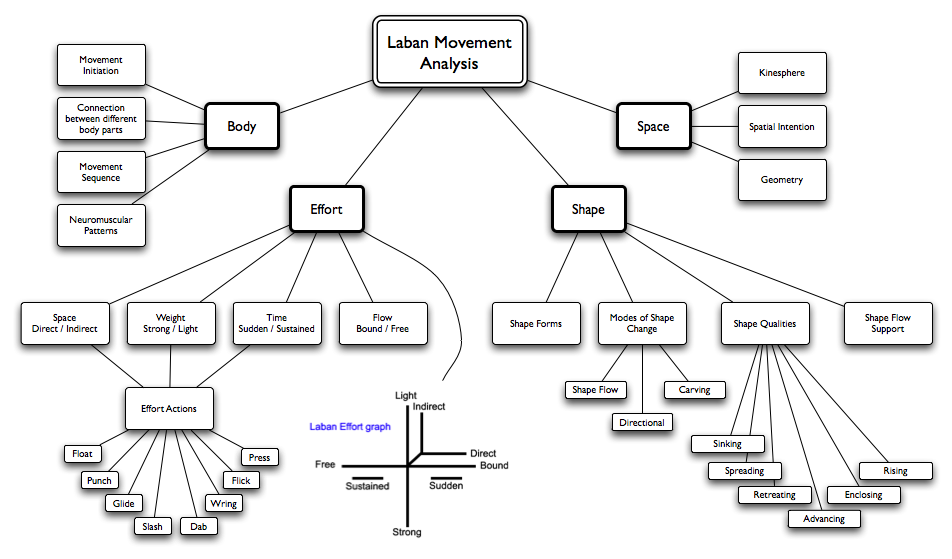 Nick Rood Media Research Project Laban Movement Analysis