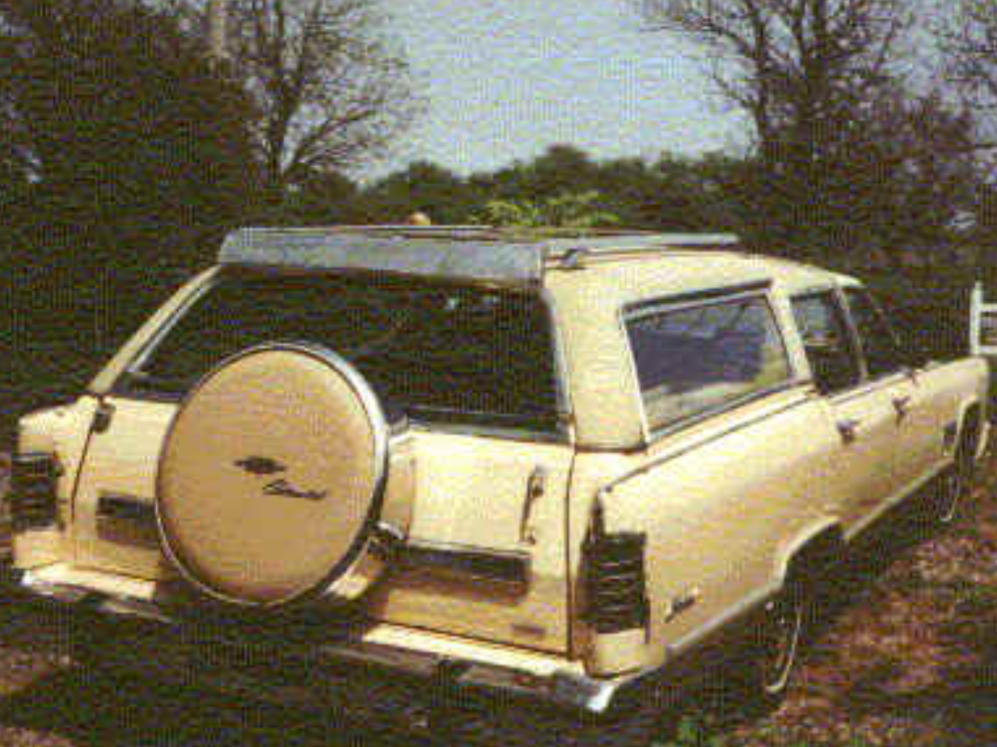 1979 Lincoln Continental Town Car Station Wagon Lincoln