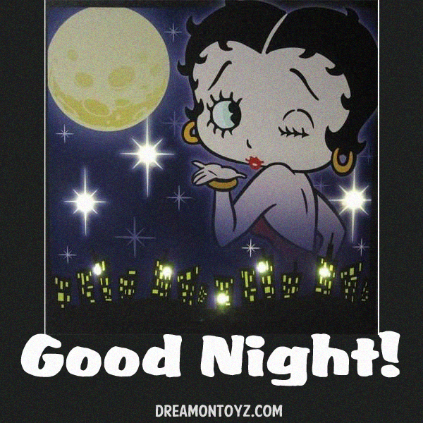 Good Night MORE Betty Boop Images Bettybooppicturesarchive