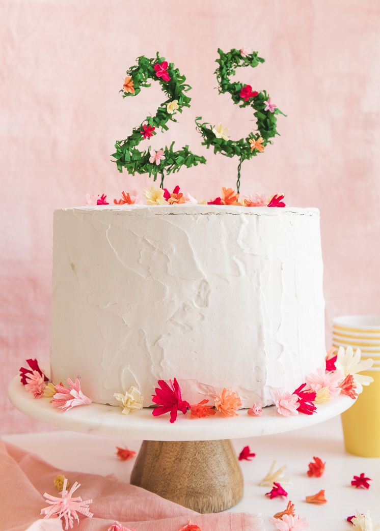 Admirable Floral Numbers Birthday Cake Topper Number Birthday Cakes Diy Funny Birthday Cards Online Inifofree Goldxyz