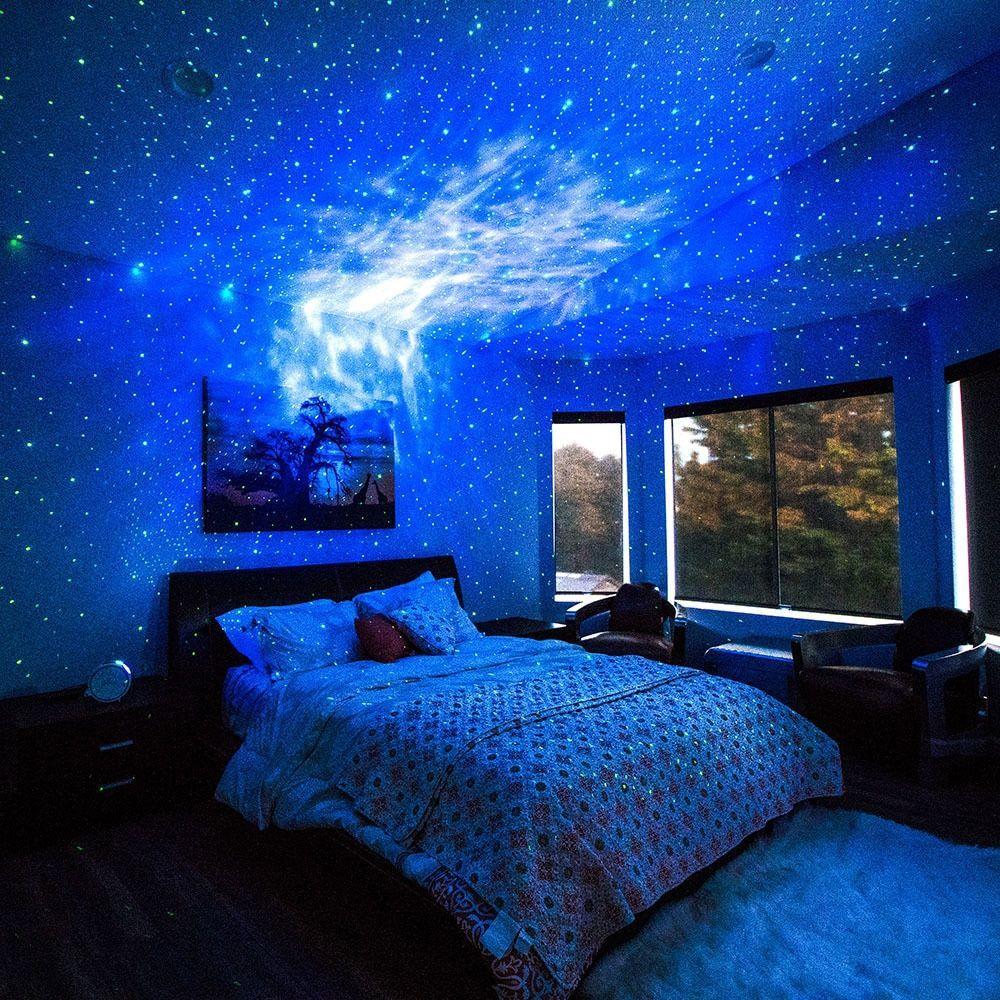 Sky Lite Laser Galaxy Projector Bedroom Layouts Bedroom Design
