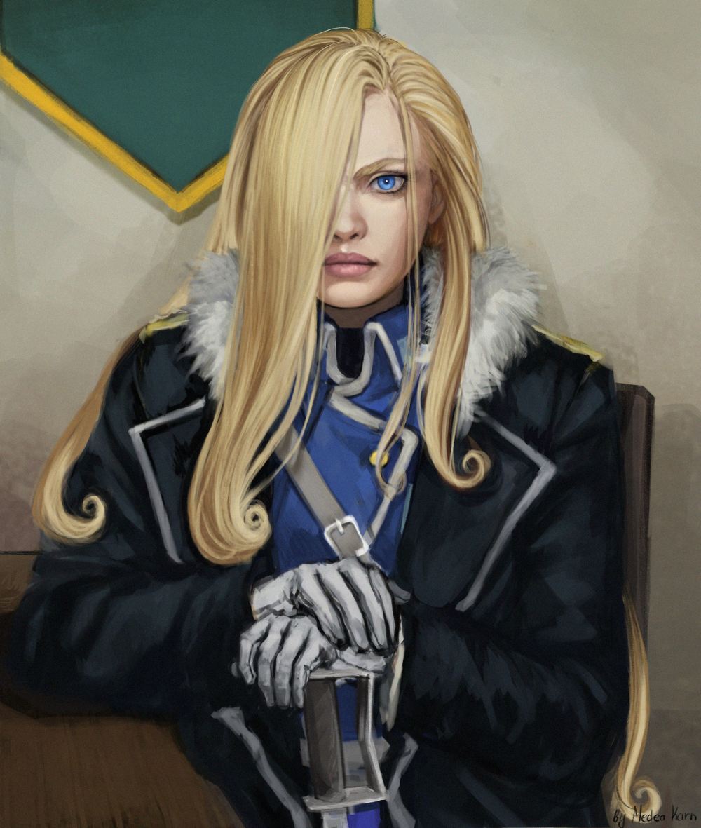 olivier mira armstrong | Tumblr in 2020 | Fullmetal ...