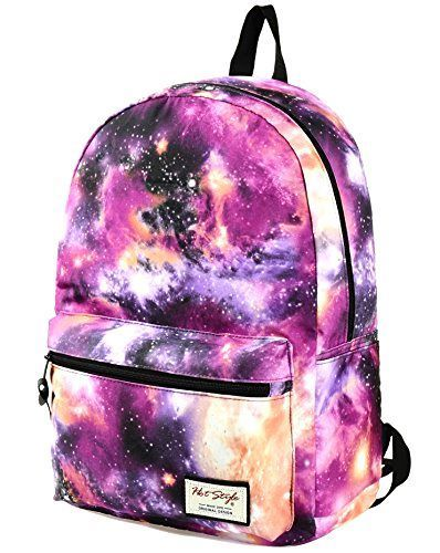 9152ad081d3 Back to School Backpacks for Girls Galaxy Backpack Cute Unique Kids ...