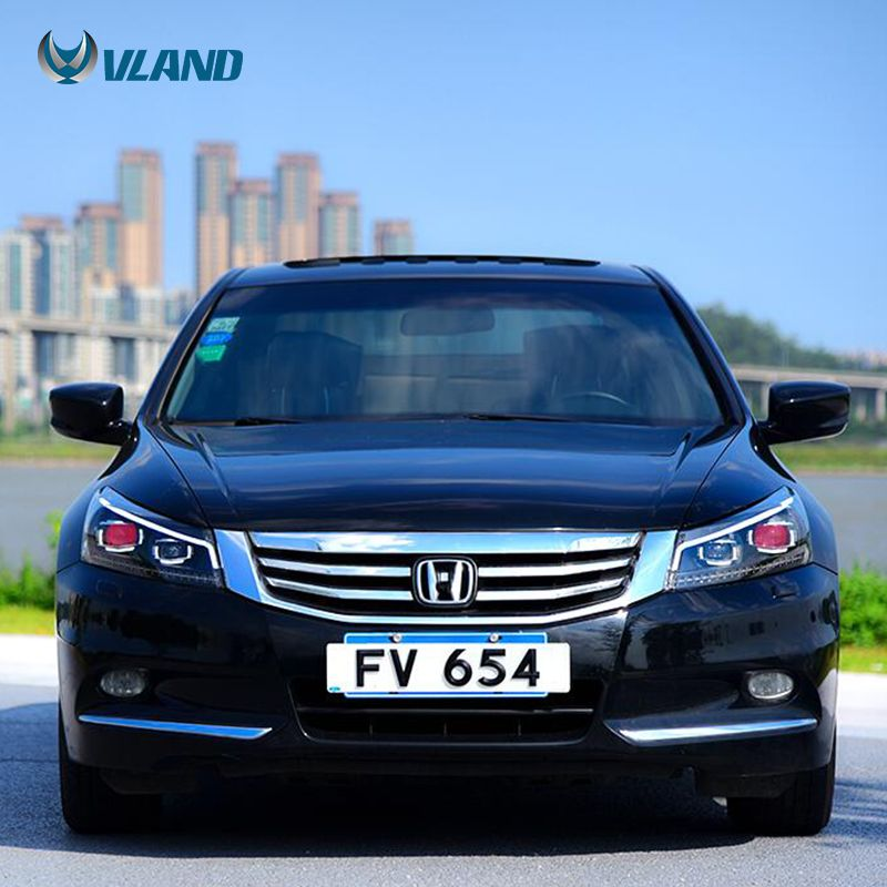 Led Head Lights For Accord 2008 2012 Eighth Headlights Lhd