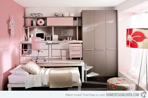 20 Stylish Teenage Girls Bedroom Ideas Small Room Bedroom