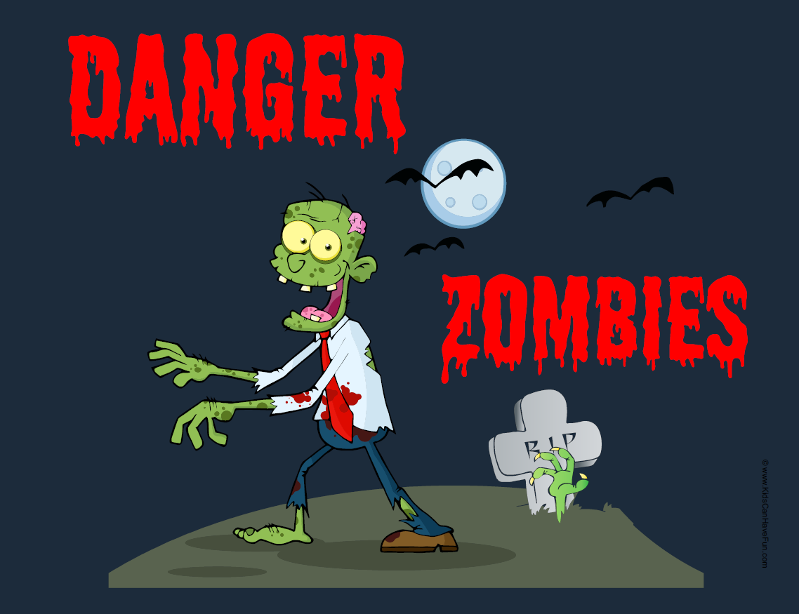 Pin By Crafty Annabelle On Zombies Printables