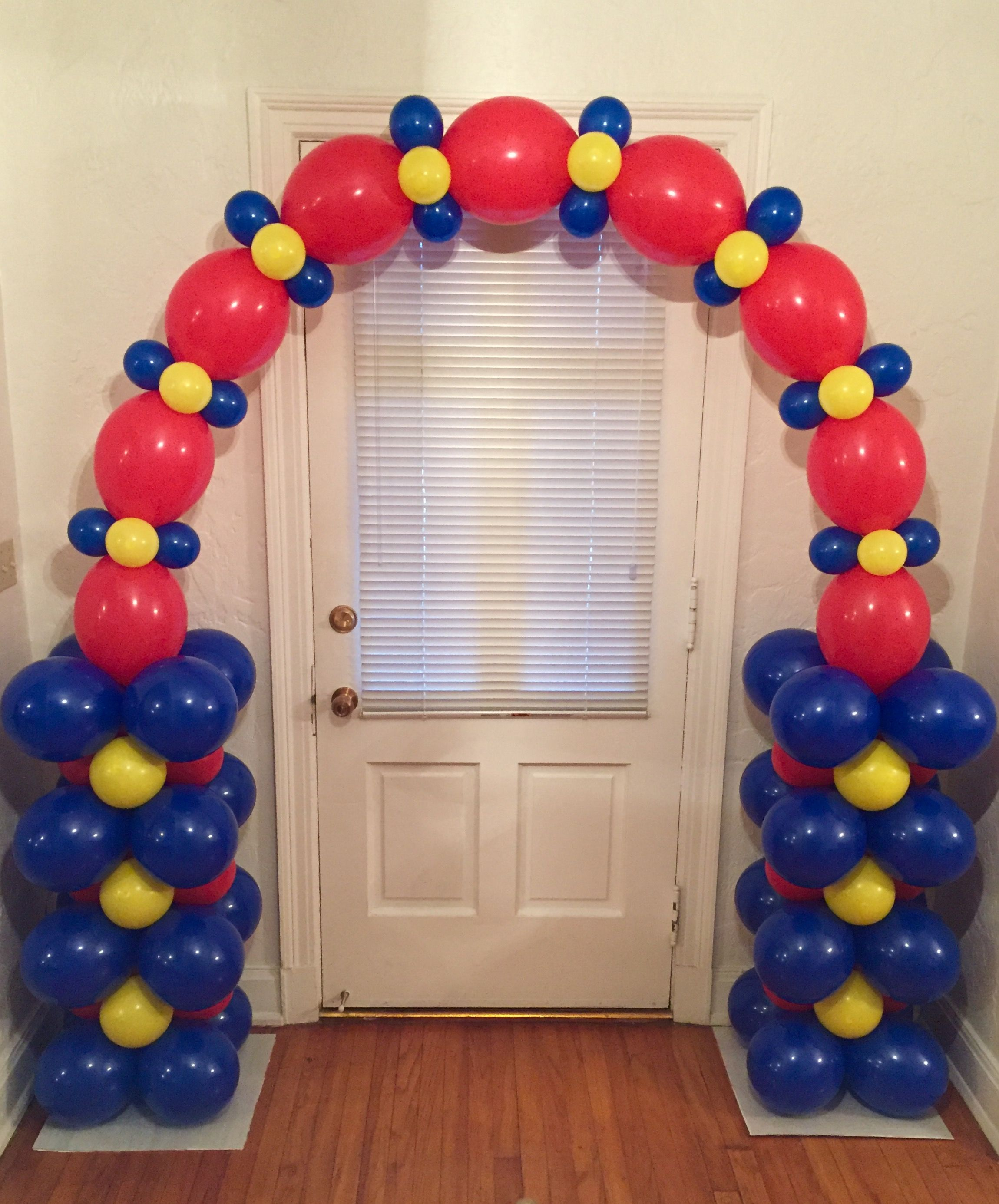 Balloon Arch air filled design uses no frame