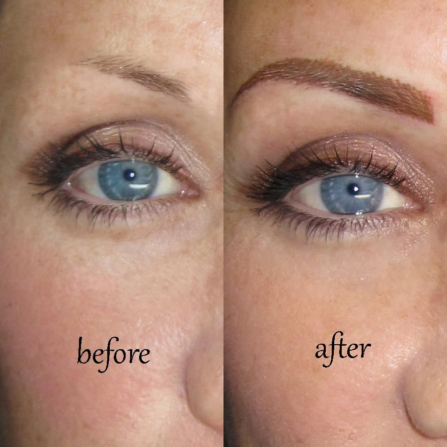 Eyebrows done at sheila bella permanent makeup for those for Cosmetic eyebrow tattoo