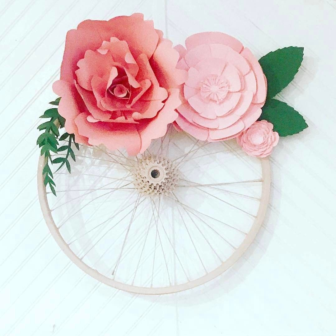 Paper flower decor and wall art Perfect for weddings events or