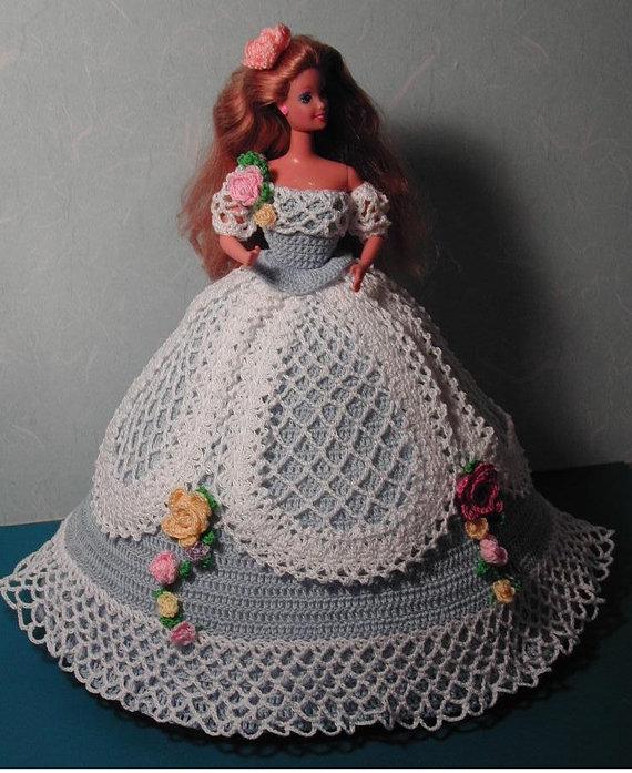 Häkeln Sie Mode Puppe Barbie Pattern 107 von JudysDollPatterns ...