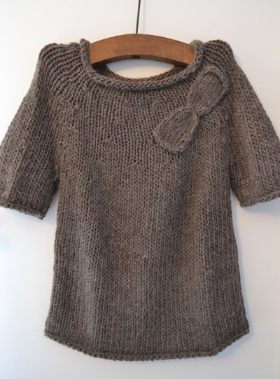 explication tricot pull femme