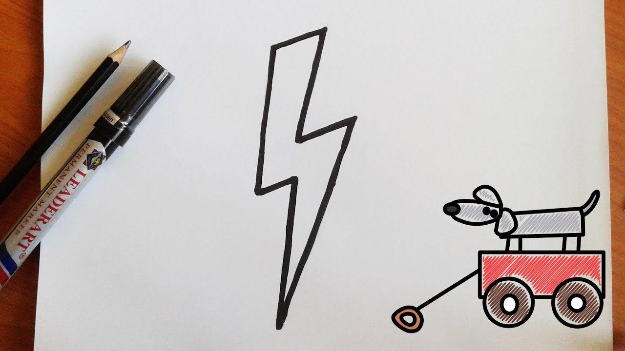 كيفية رسم البرق تعلم الرسم Hair Accessories Bobby Pins