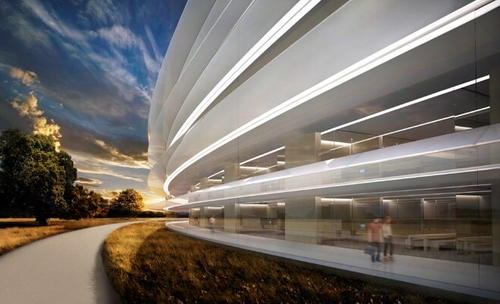 Apple's New Spaceship HQ. This Is Apple's New Mothership Of An HQ: light, space, volume, nature… What else? http://techcrunch.com/2013/11/11/this-is-apples-new-mothership-of-an-hq/#!