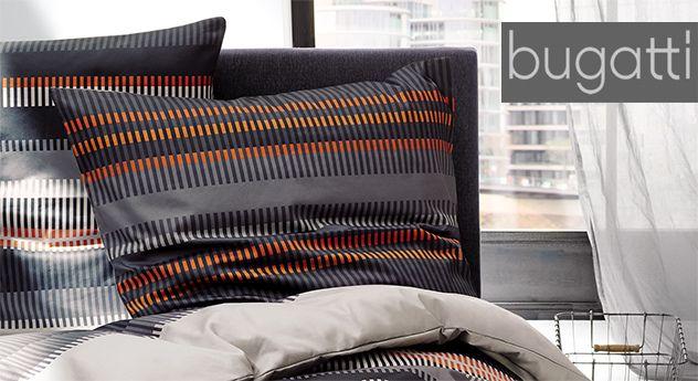 Moderne Bettwäsche der Marke bugatti auch in Übergröße erhältlich - moderne betten schlafzimmer
