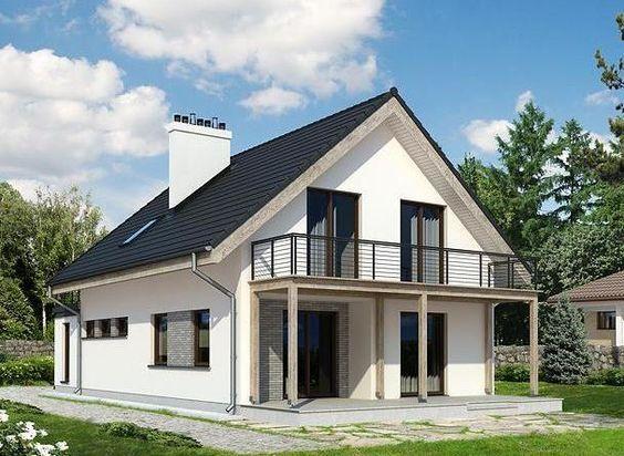 Modelos de casas de dos pisos para construir fachada for Modelos de casas de dos pisos
