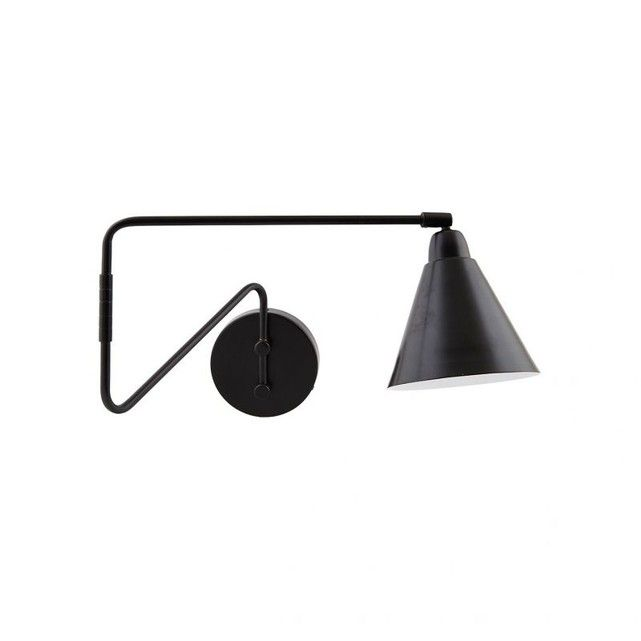 Lampe Murale Game Black Parement Mural Applique Murale Noire Lampe Murale