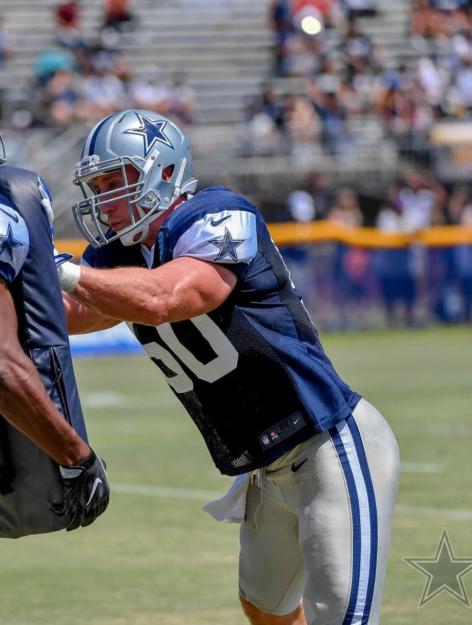 Tennessee Country Boy Sean Lee Dallas Cowboys Training Camp Country Boys Football Helmets