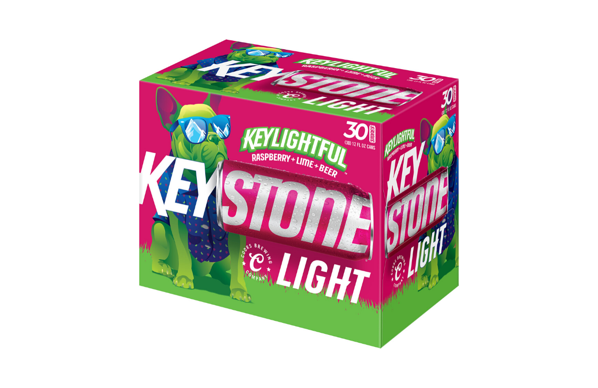 Fruit Forward Keylightful Primed For A March Debut Millercoors Behind The Beer In 2020 Keystone Light Coors Beer Brewery
