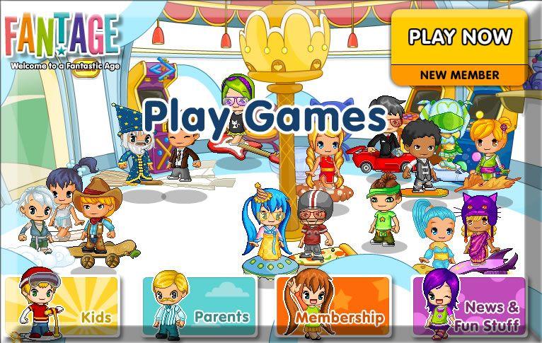 Fantage free online games cool games online kids
