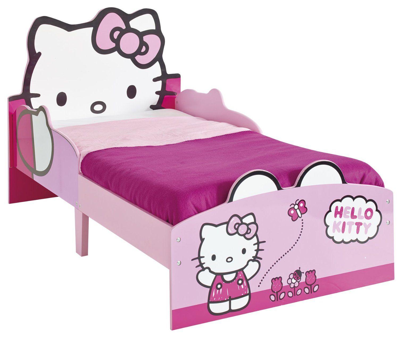 Venta CAMA HELLO KITTY INFANTIL de MADERA. 506HTT | Hello kitty ...
