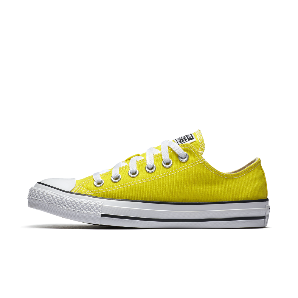 efba83254127 Converse Chuck Taylor All Star Star Seasonal Colors Low Top Shoe Size 8.5  (Yellow) - Clearance Sale