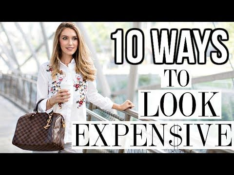 b934a73975 28 DRESSING RULES THAT EVERYONE SHOULD LEARN ONCE AND FOR ALL - YouTube 10  Ways To Look Expensive