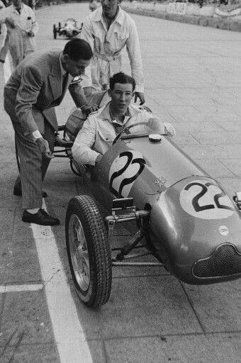 1950 F3 Monaco GP, Monte Carlo : Stirling Moss, Cooper 500 cc ...
