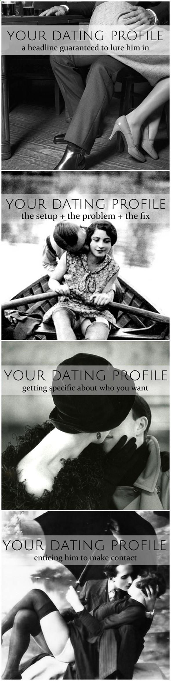 Poster headline ideas for dating