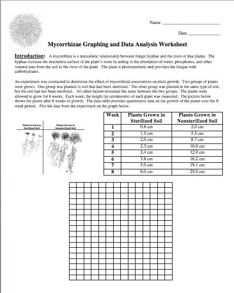 Science Stuff Blog Free Graphing Activity On The Fungi The Fungi