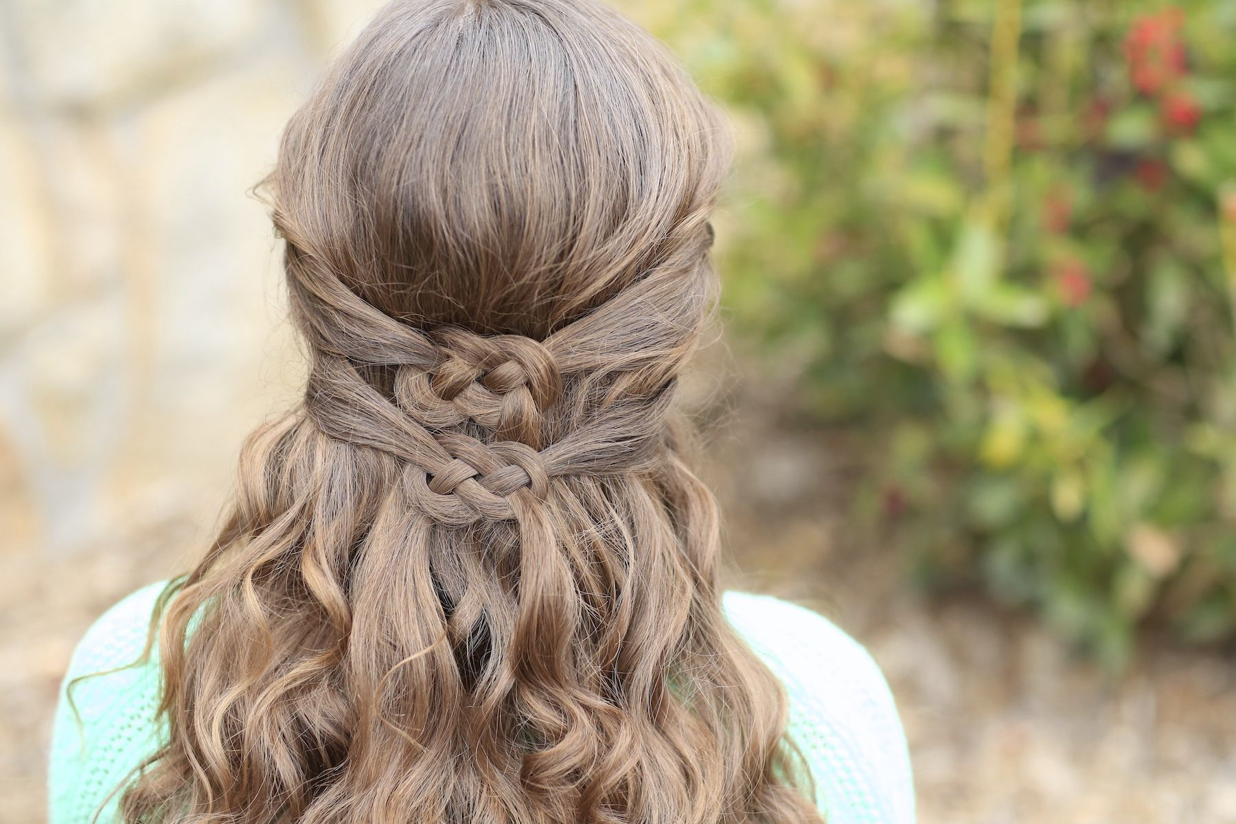 ways to wear a celtic knot st patrickus day hairstyles cute