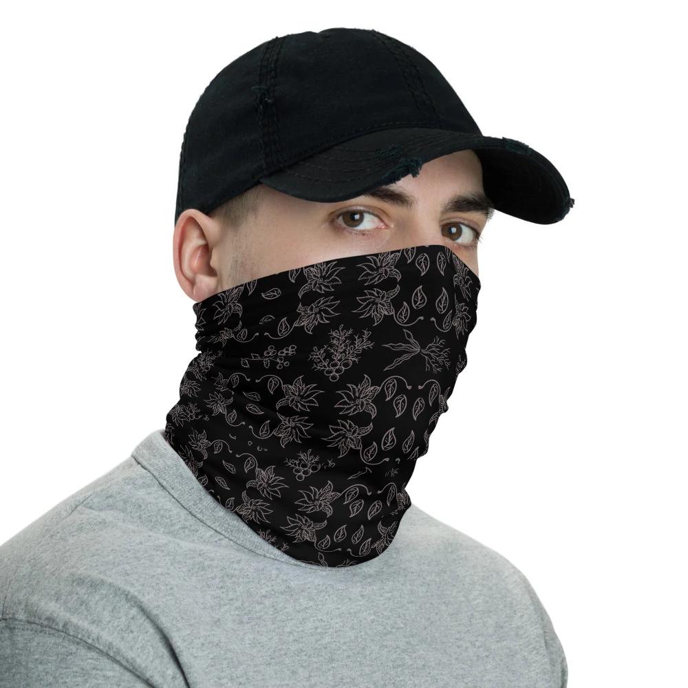 Face Mask Original Wave Blue Face Covering Headwear Buff Neck Tube