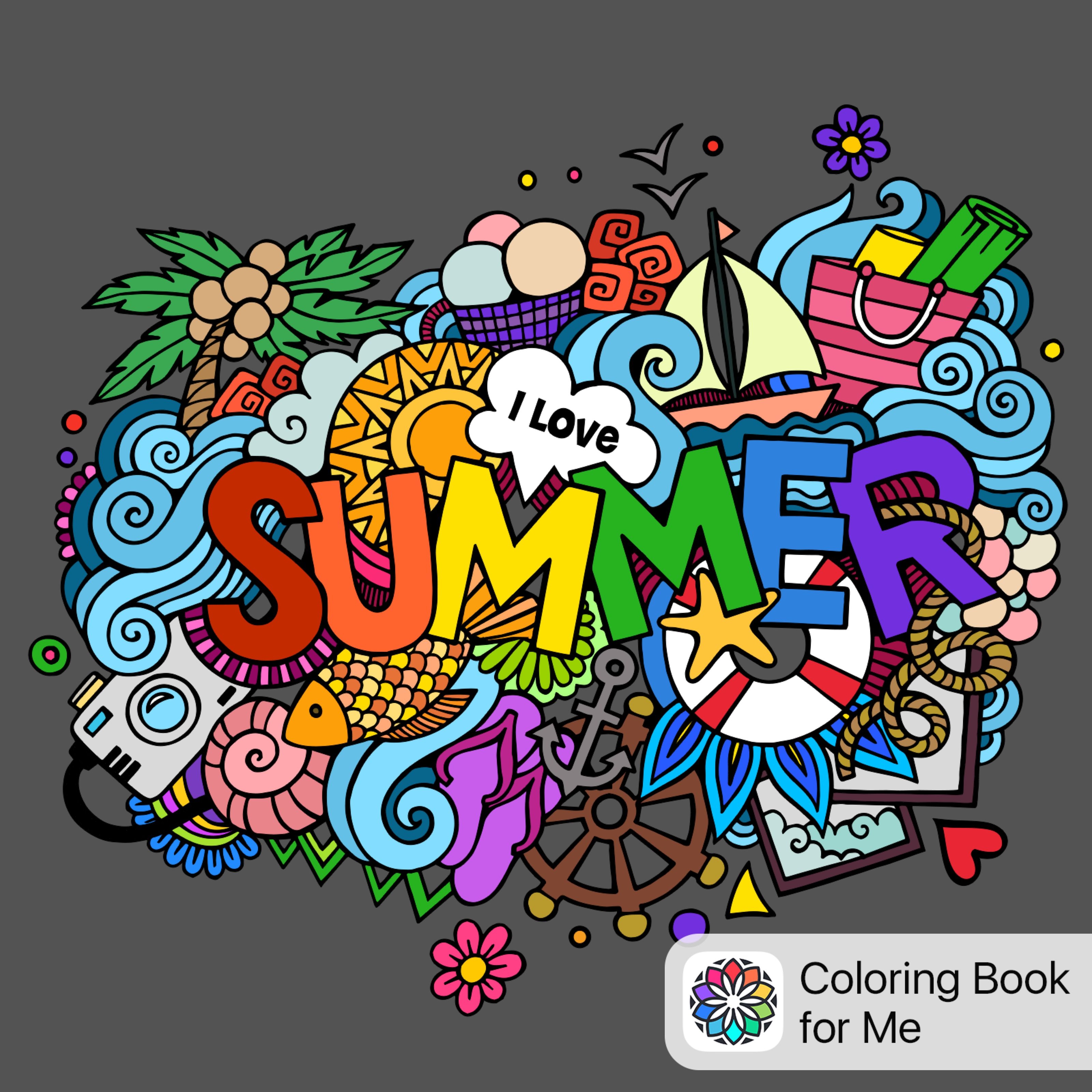 Colored With Coloring Book For Me Coloring Books Doodle Art Coloring Pages