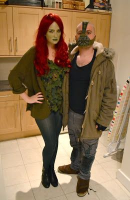 Batman cosplay poison ivy costume and bane costume halloween batman cosplay poison ivy costume and bane costume solutioingenieria Choice Image