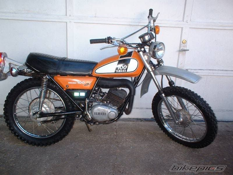 Yamaha Dt 100 Youth Dirt Bikes Japanese Motorcycle Dual Sport Motorcycle
