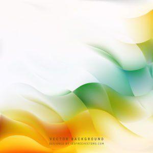 Orange Green Background Vector In 2020 Green Backgrounds Vector