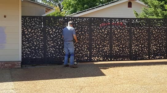 User Submitted Photo Outdoor Patio Decor Privacy Screen Outdoor Fence Design