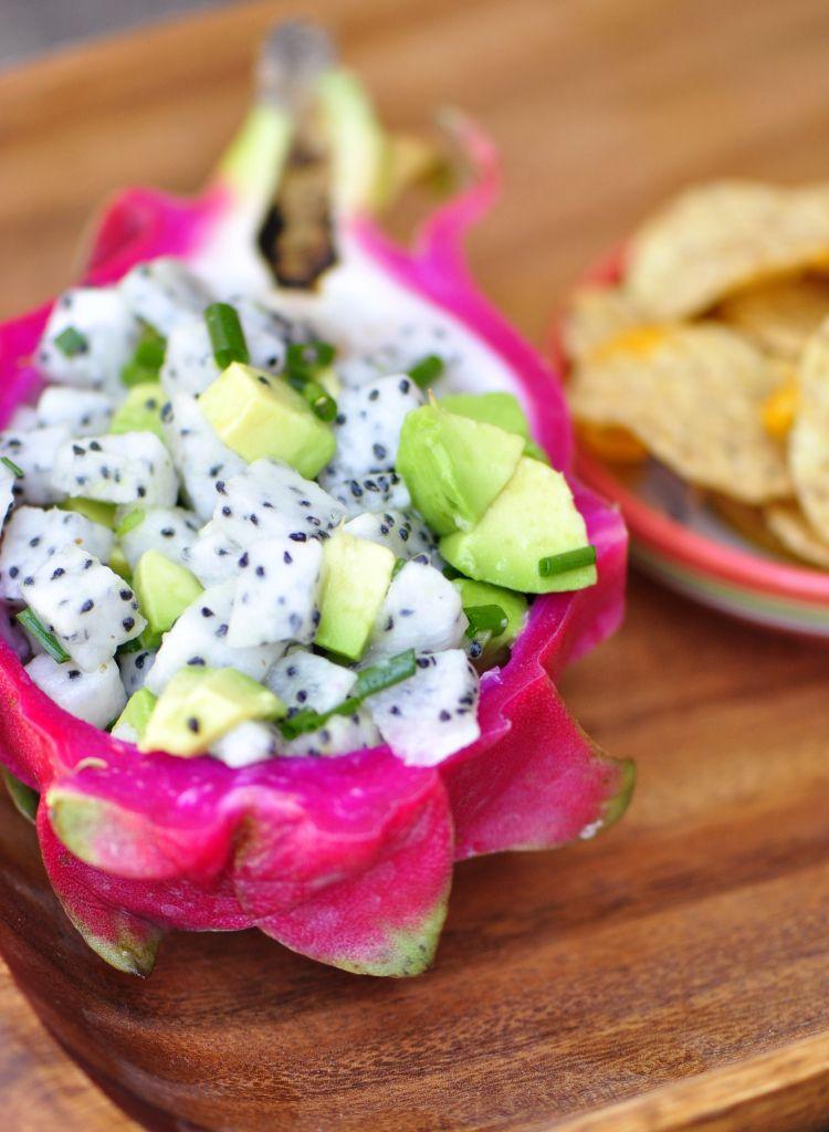 Dragon fruit and avocado salsa dragonfruit recipes