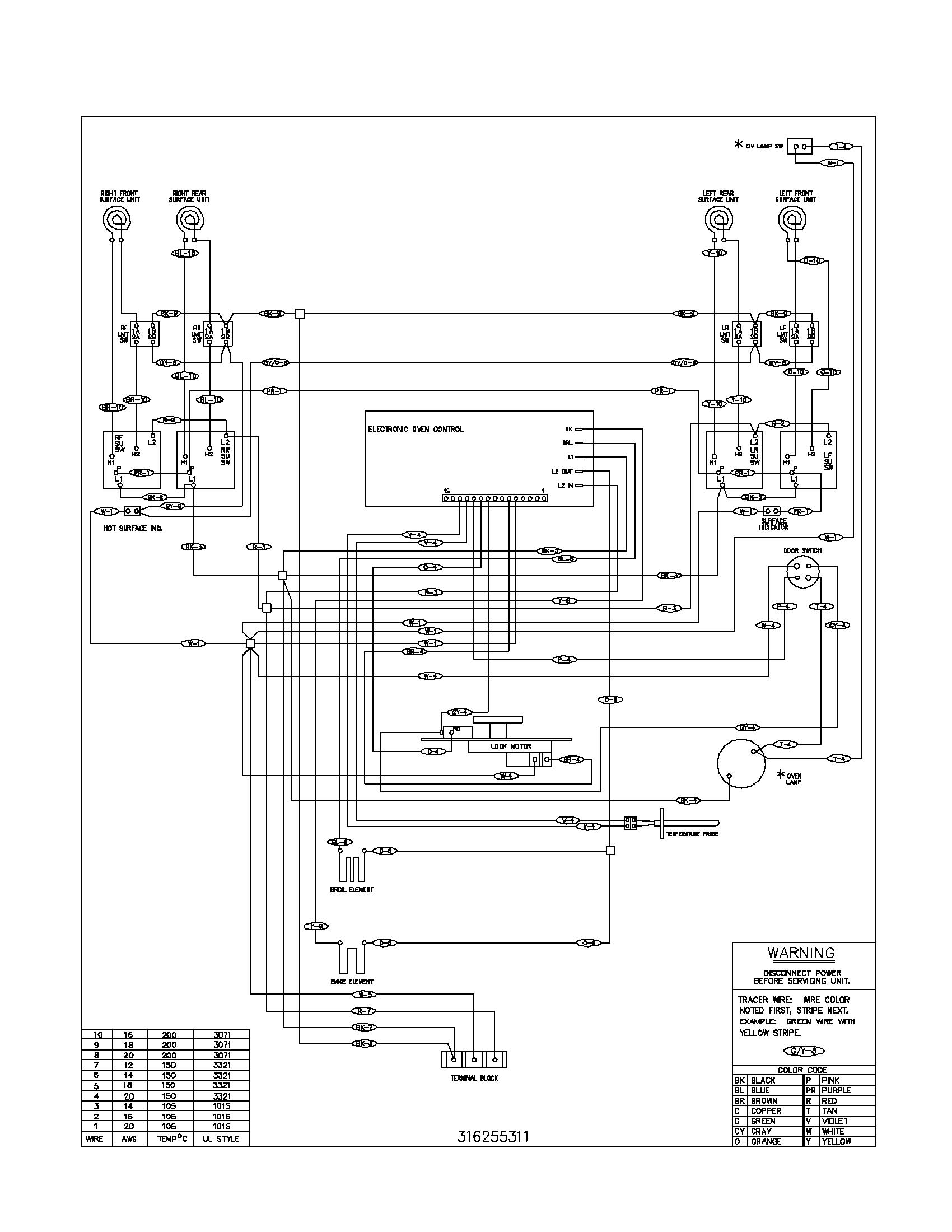 Unique Wiring Diagram Of Electric Cooker Diagram