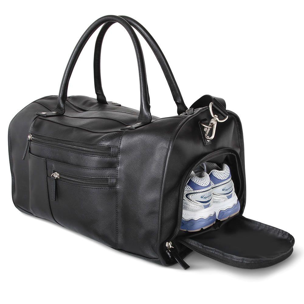 c3eb6c44d7 The Genuine Saffiano Leather Gym Bag in 2019   Clothing   Gym bag ...