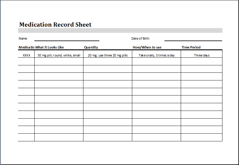 Rental Vehicle Log Book Template Download At HttpWww