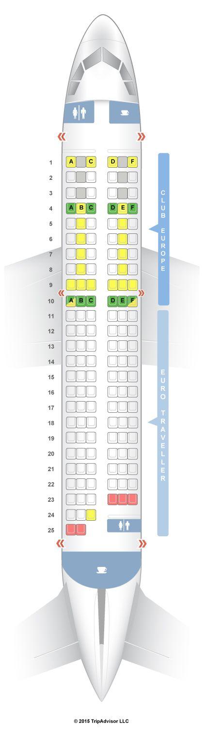 Seatguru Seat Map British Airways Airbus A319 319 European Seatguru Seatguru Spirit Airlines Qatar Airways