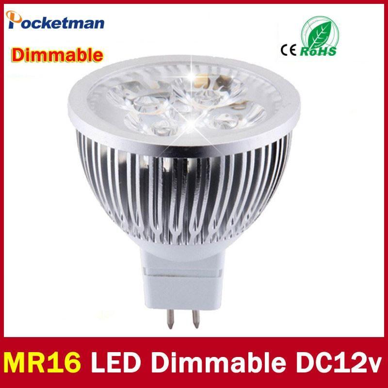 High Lumen Cree Mr16 Gu5 3 Led Spot Light Lamp 12v 220v 110v 3w