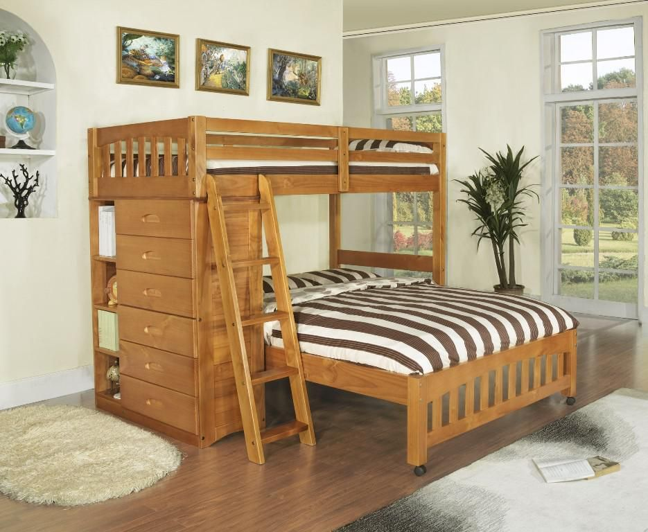 Queen Over Queen Bunk Bed Plans Full Over Queen Bunk Beds Share