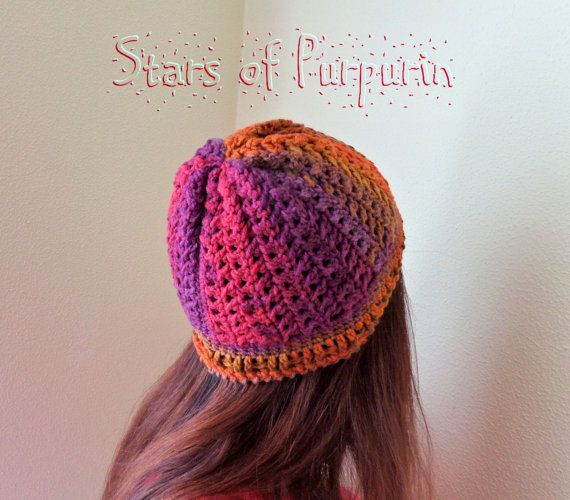 Gorro Autumn Spirit  Gorro de Lana  Multicolor por StarsOfPurpurin