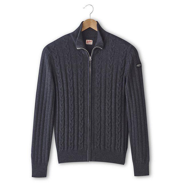 Camisola PL Sean 2 algodão e lã