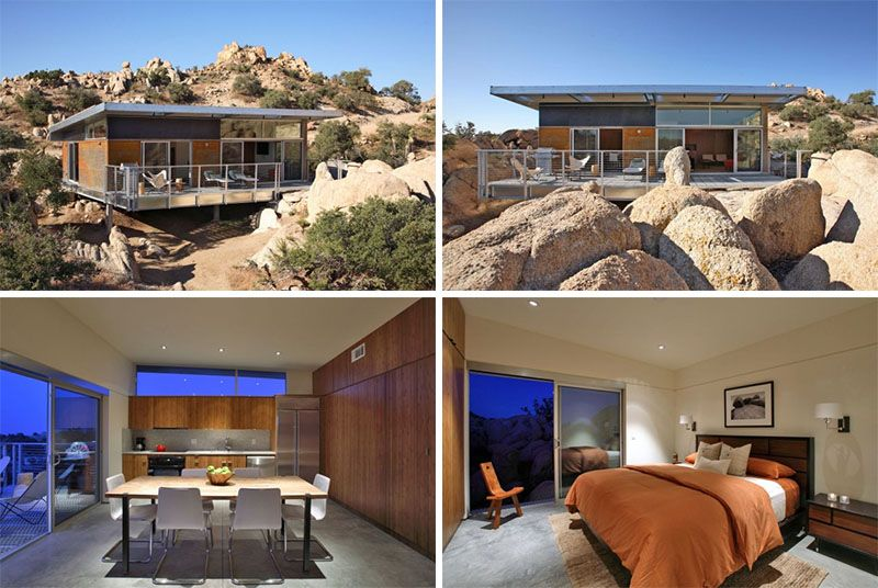 15 Awesome Examples Of Homes In The Desert // This Prefab