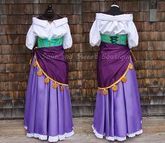 Esmeralda Cosplay Costume Tutorial (The Hunchback of Notre Dame)                                                                                                                                                                                 More